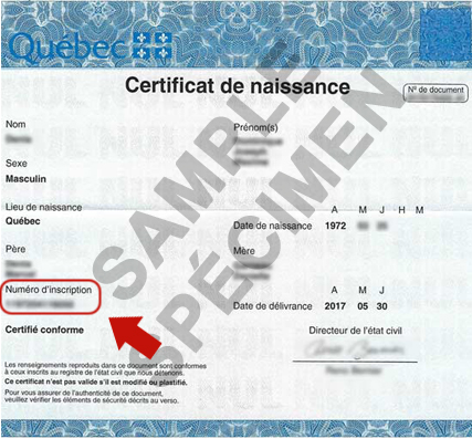 1446-qc Quebec Birth Certificate Application Form English on