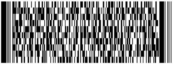 sample of a barcode